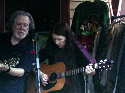 Uncle Monk (Tommy Ramone and Claudia Tienan), Phoenicia NY